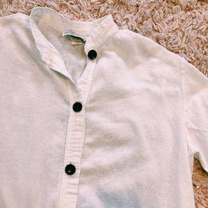 Vintage Tops - Vintage Jordan Taylor Button-Up Cotton Shirt